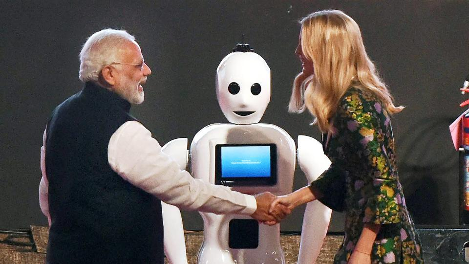 IHG'Made in India' robot that stole the show at GES Hyderabad