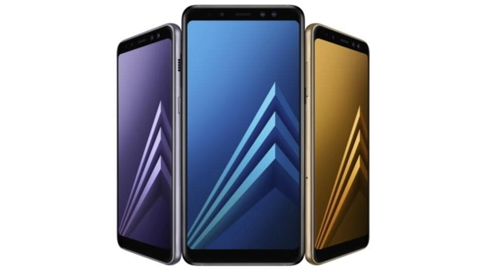Galaxy A8(2018) and A8+(2018) feature dual front camera and Infinity Display