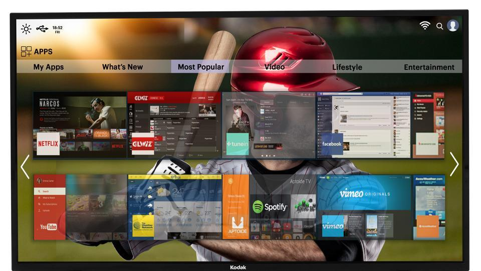 The TV is bundled with a smart remote that has dedicated buttons for Netflix, Hotstar and YouTube.