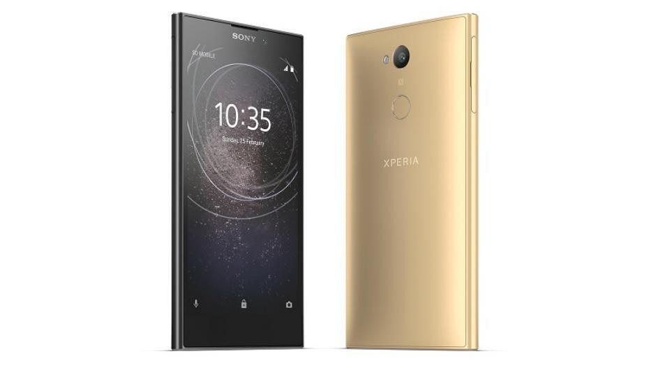 Sony Xperia L2 comes in two color options of gold and black