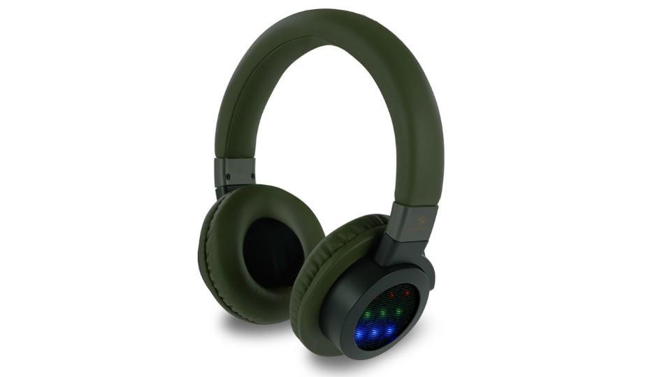 Zebronics Neptune wireless headphones features rhythmic LED lights