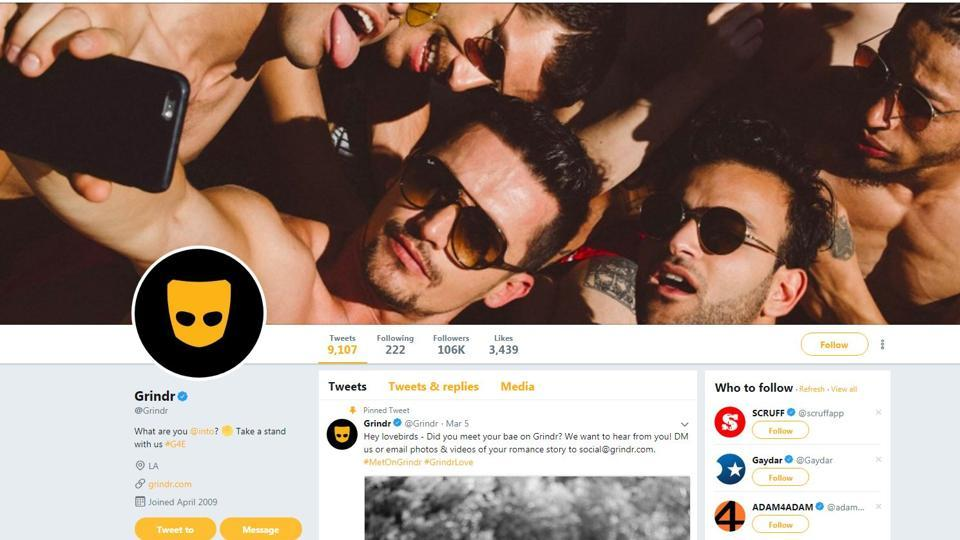 Grindr, a Los Angeles-based company, said that it uses Apptimize and Localytics to test and validate its platform, and that data it shares with them could include users' HIV status or location fields.