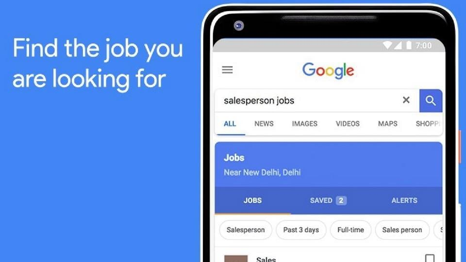 Google Search rolled out its job search feature in India.