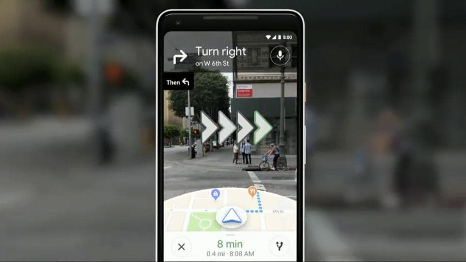 Google combines camera with Maps and Street View for better navigation.