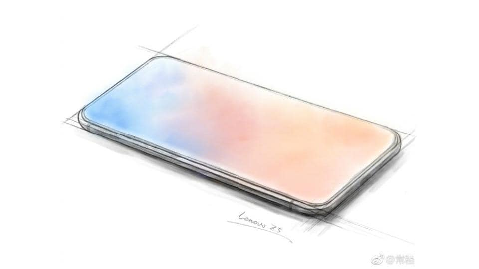 Lenovo Z5 will feature a bezel-less display without the notch cutout possibly.