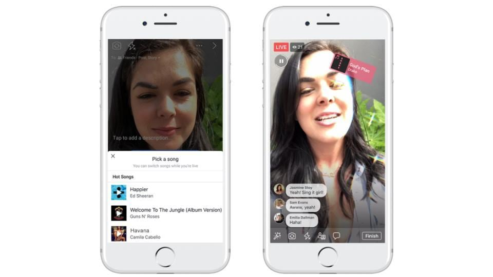Facebook is currently testing its 'Lips Sync Live' feature in several markets.