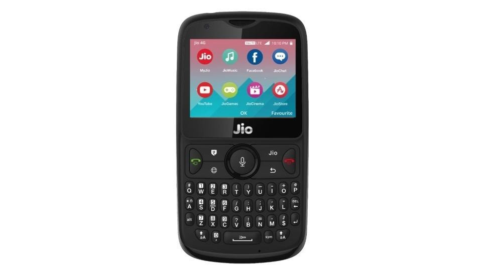 Reliance JioPhone 2 smart feature phone will be available from August 15.