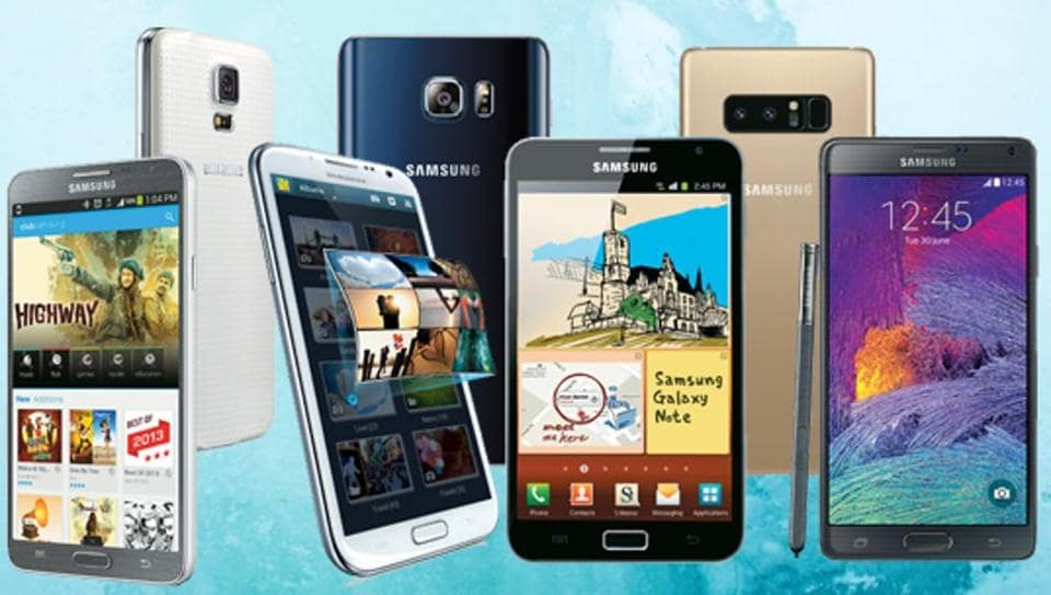 Here's how Samsung Galaxy Note phones have evolved over the years