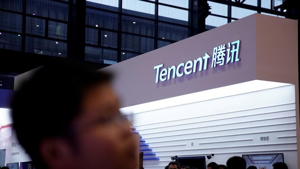 Fourth-quarter numbersshowed quite clearly that Tencent had joined the ranks of internet mortals.