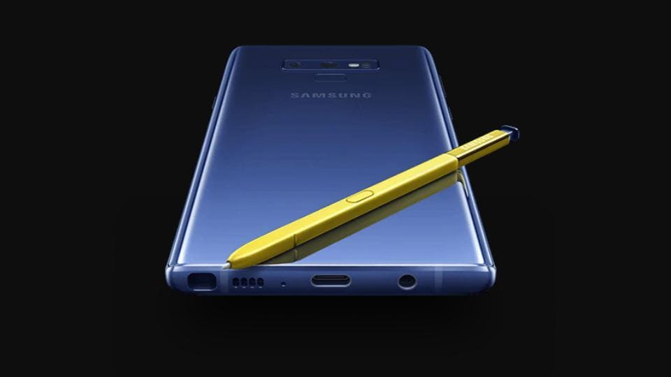 Samsung Galaxy Note 9 is available in two storage variants going up to 512GB.