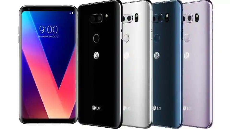 LGlaunched V30 smartphone at IFA2017
