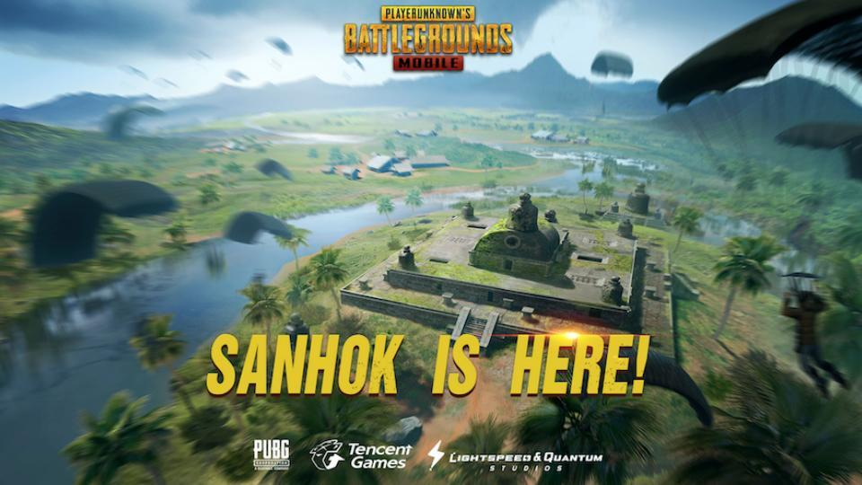 PUBG Mobile adds the third map, Sanhok, to the game.