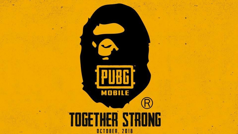 PUBG Mobile collaborates with Japanese street wear brand BAPE for exclusive in-game outfits.