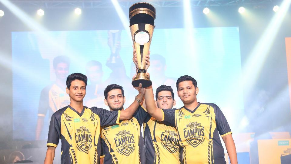 The winning squad of PUBG Mobile Campus Championship took home a prize money of 15 lakhs.