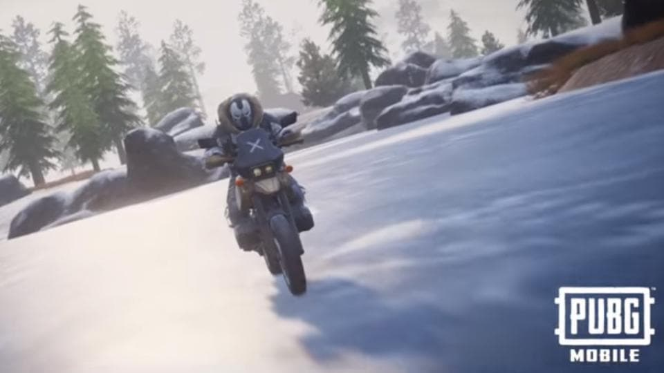 PUBG Mobile's latest update brings snow weather, snow theme and Vikendi-exclusive snowmobile.