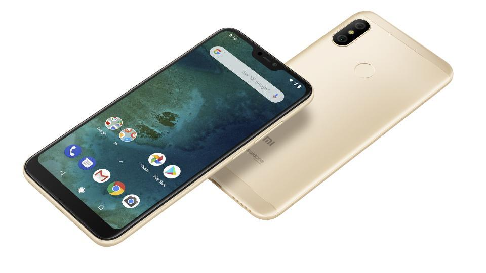 Xiaomi Mi A2 features a 5.99-inch full HD+ display with 18:9 aspect ratio.