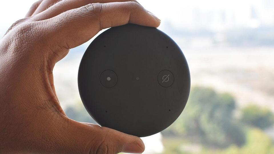 Amazon Echo Input is surprisingly very compact