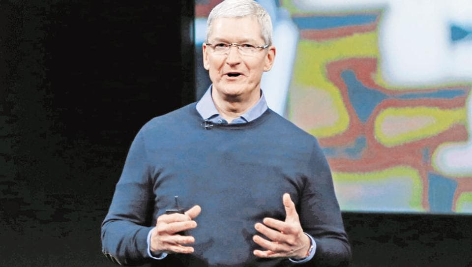 Apple CEO said foreign exchange is another key factor behind the slow iPhone sales.