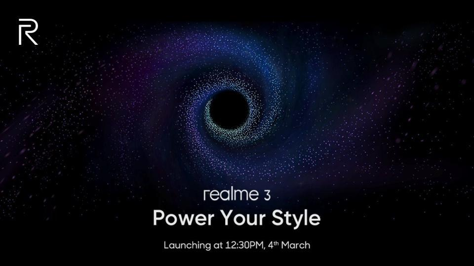 Realme 3 to feature 4,230mAh battery.