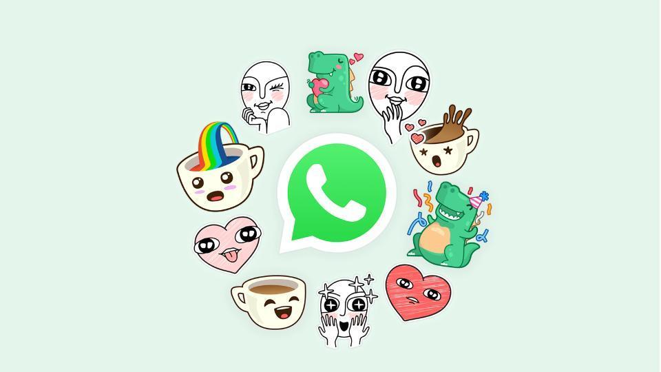 WhatsApp stickers for Holi.