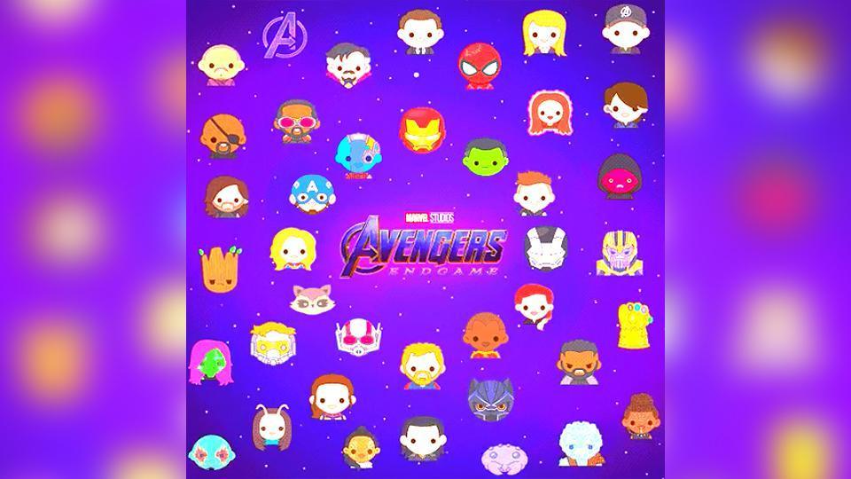 Twitter emojis for Avengers: Endgame.