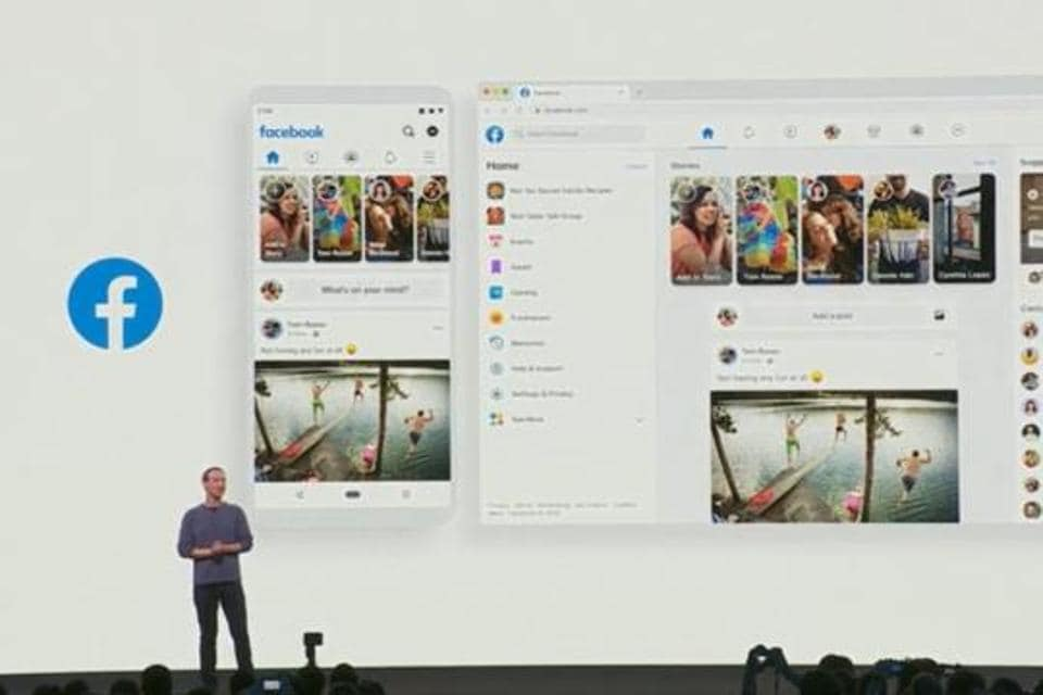 Here's the first look at new Facebook desktop version.