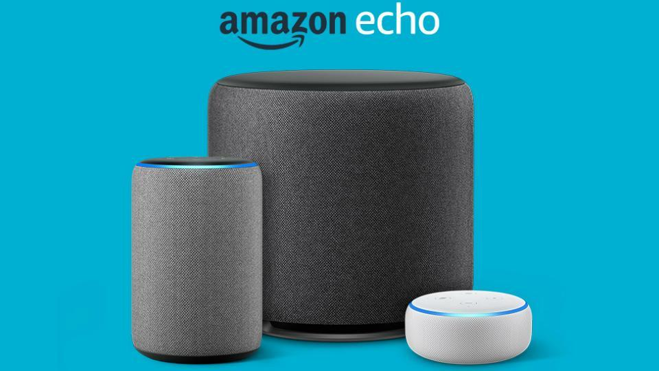 Amazon Echo smart speakers.