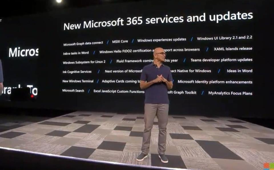 Here are top updates to Microsoft's 365 services