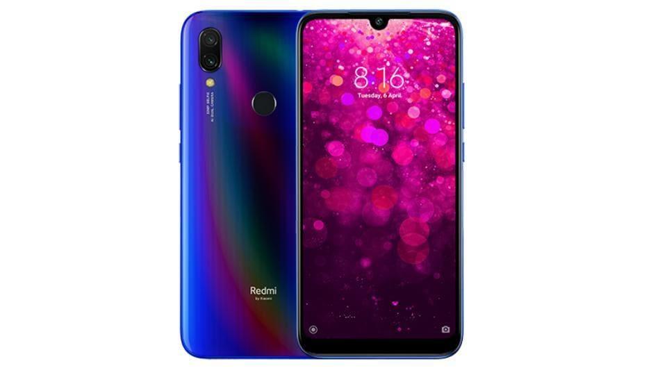 XiaomiRedmi Y3 smartphone.