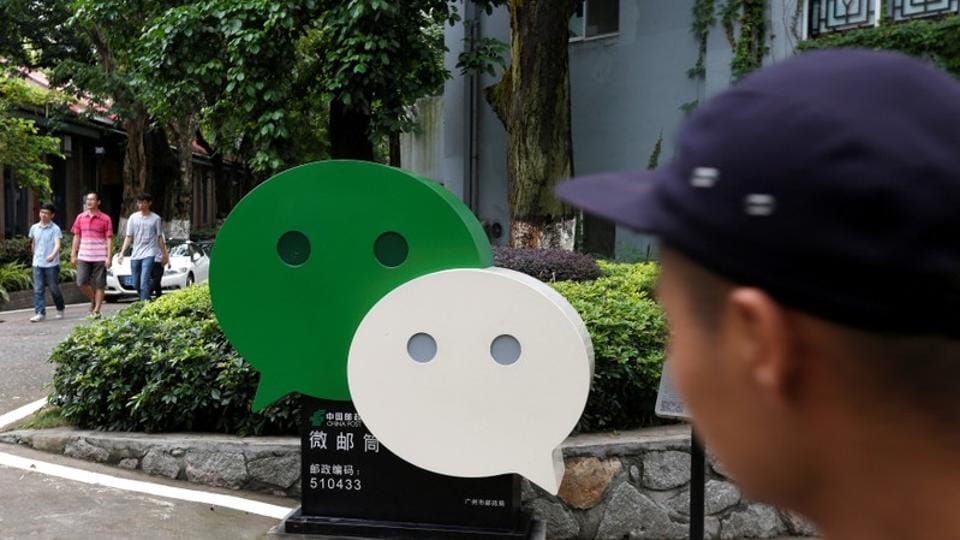 WeChat is the most popular messaging app in China.