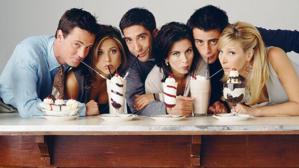Friends TVshow celebrates its 25th anniversary.