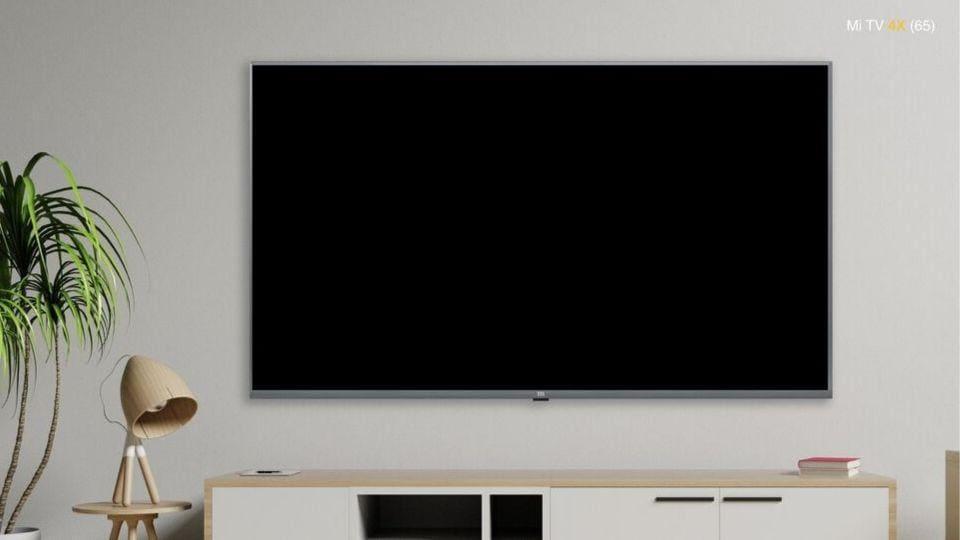 Xiaomi Mi TV4X 65-inch model.