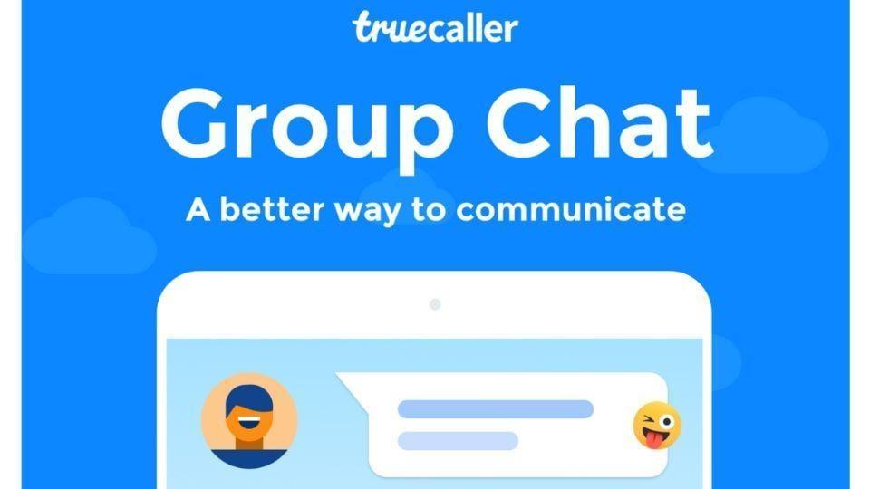 Truecaller group chat.