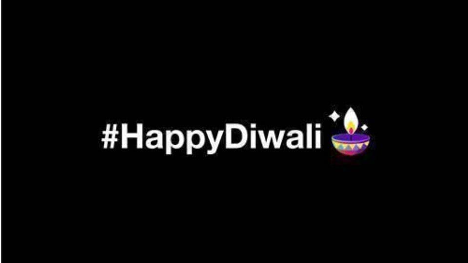 Twitter diya emoji for Diwali.