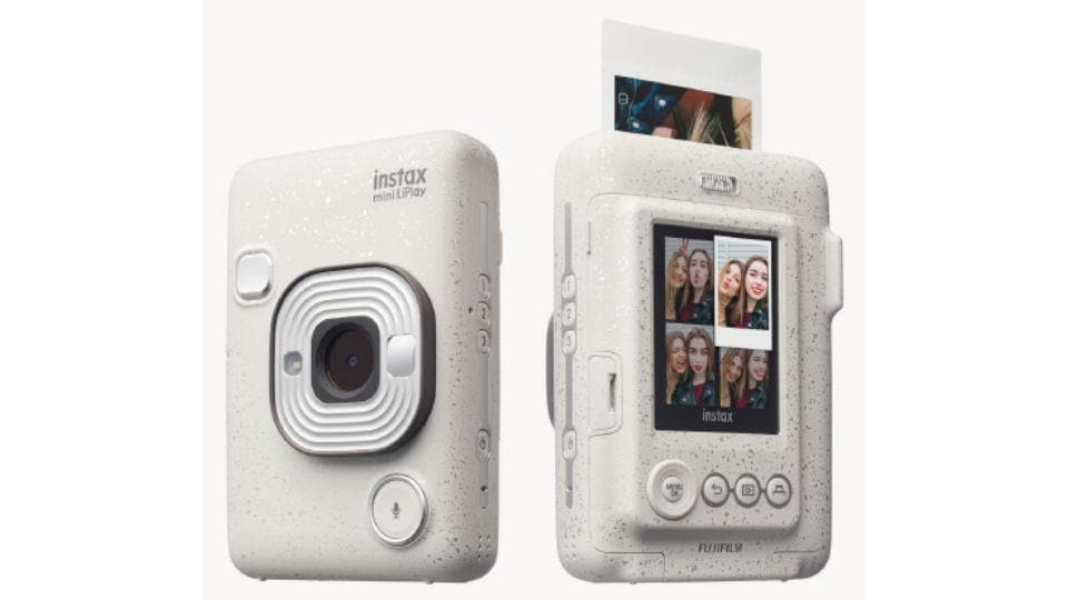 Fujifilm instax LiPlay camera printer.