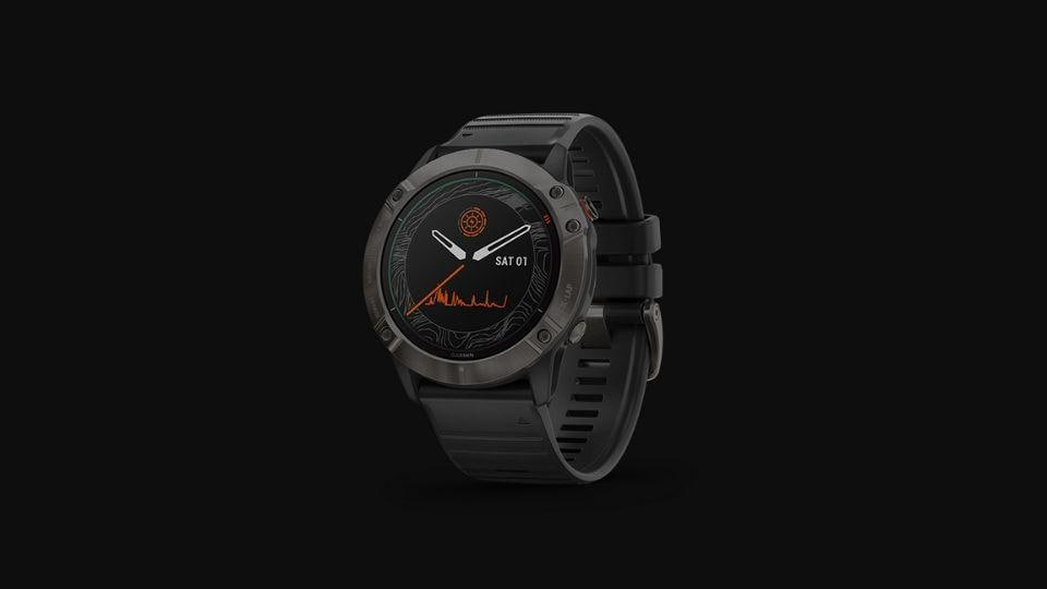 Garmin Fenix 6 smartwatch series.