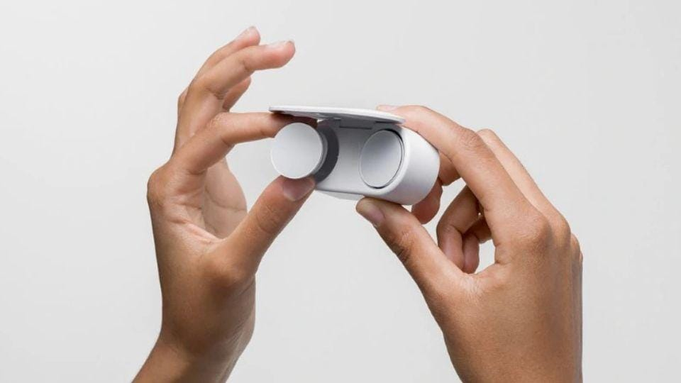 Microsoft Surface Earbuds launch delayed.