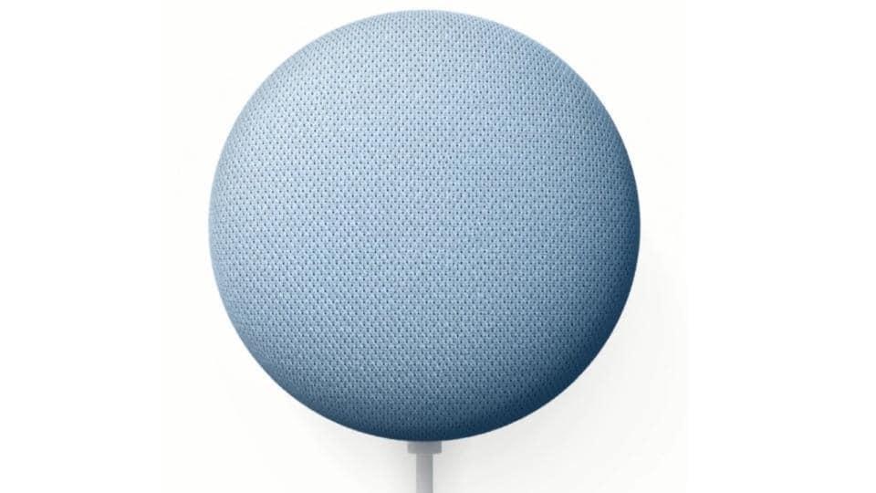 Google Nest Mini smart speaker launched in India.