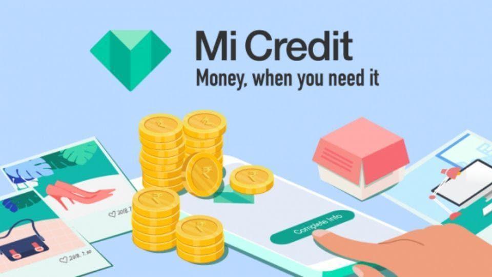 Xiaomi's Mi Credit service launch.