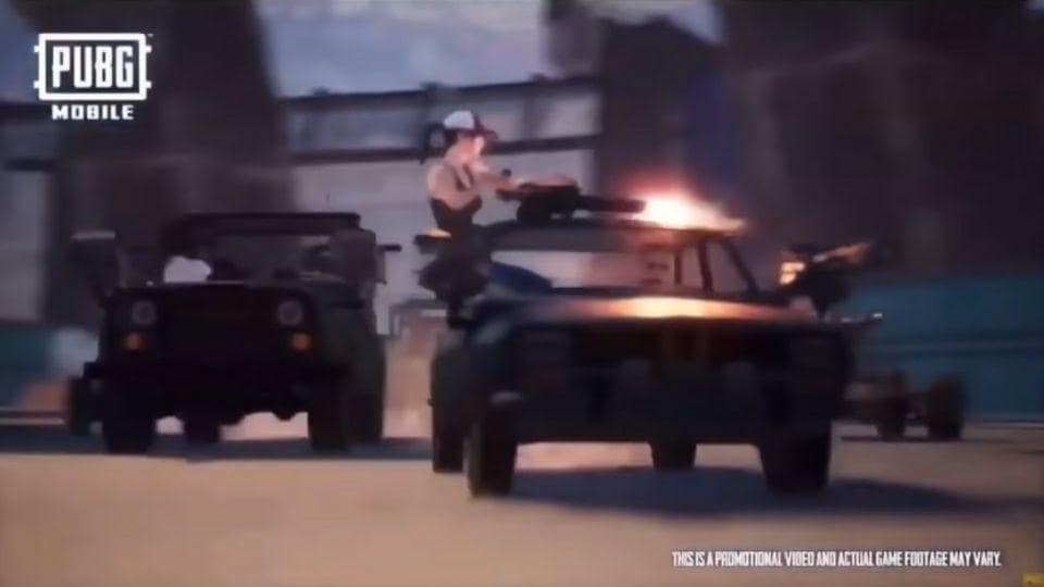 Death race mode coming to PUBGMobile soon.