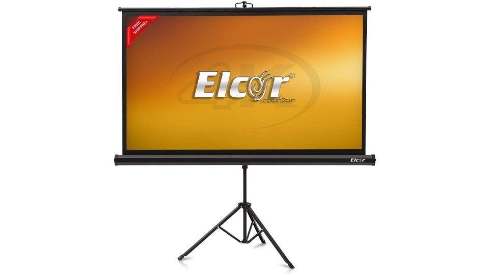 Royality Industries Tripod Durable Projector Screen