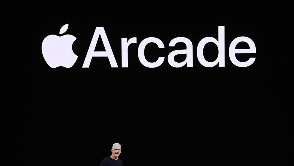 Apple's subscription-based gaming service Arcade is adding an annual subscription option for Rs 999 per year, joining the existing Rs 99 monthly subscription option. Photographer: David Paul Morris/Bloomberg