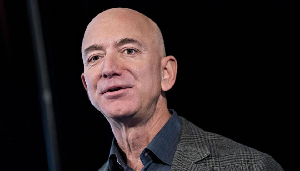 Amazon Founder and CEO Jeff Bezos hired computer programmer Paul Davis in 1994 - his second employee at the company.