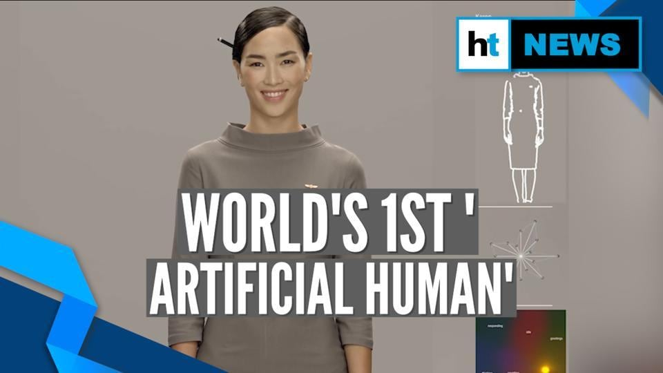 <p>World's first 'Artificial Human' – Neon – was introduced by Samsung backed Star Labs at CES 2020. This is the latest entry in the Artificial Intelligence (AI) world. Star Labs demonstrated six Neon avatars that can converse, sympathise like real human beings. Neon runs on propriety technology platform Core R3 which stands for Reality, Realtime and Responsiveness. Neon is the brainchild of CEO and President of Star Labs Pranav Mistry. </p>