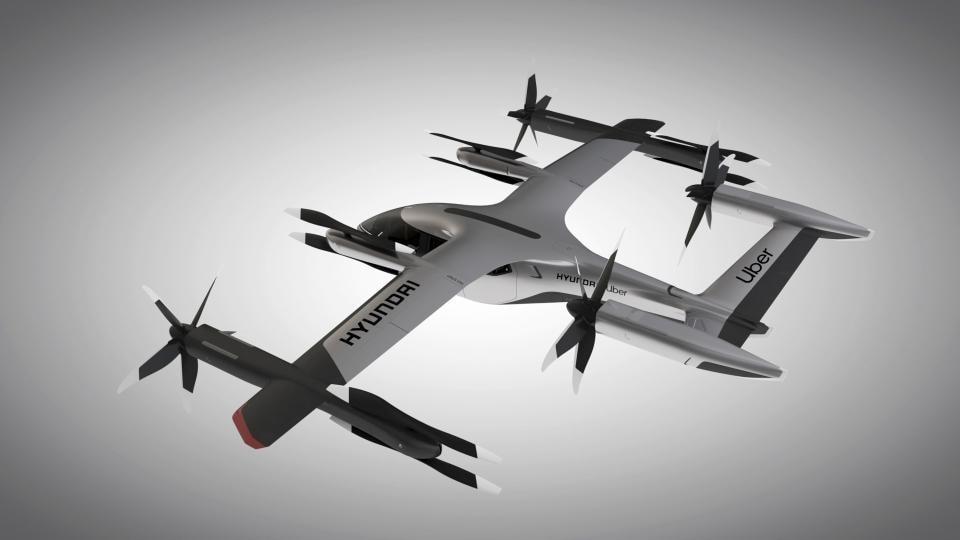 Hyundai and Uber announce aerial ridesharing partnership at CES 2020