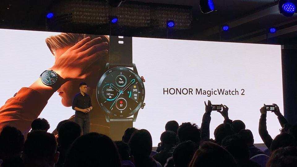 Honor launched Honor 9X smartphone alongside MagicWatch 2 smartwatch in India.