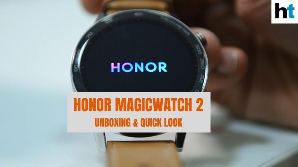 <p>Huawei's sub-brand Honor just launched its new smartwatch in India, the MagicWatch 2 that comes at a starting price of Rs 11,999 and goes up to Rs 14,999. It also comes in two variants based on 42mm and 46mm dials.</p>