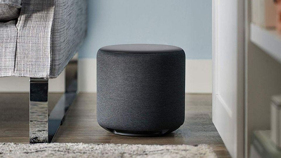 Amazon Echo Sub woofer for Echo smart speakers.