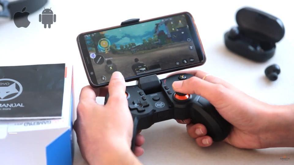 Amkette mobile gamepad controller