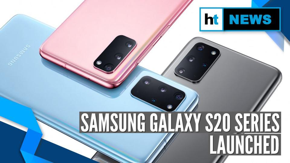 <p>Samsung's new flagship series features Galaxy S20, Galaxy S20+ and Galaxy S20 Ultra. The new Galaxy S20 phones come with Exynos 990 or Snapdragon 865 processor, Android 10 with OneUI 2.0 and Infinity-O display. The Galaxy S20 is the base model in the series with triple rear cameras and a 4,000mAh battery. The Galaxy S20+ has a bigger display, battery and an extra camera sensor as well. As for the Galaxy S20 Ultra, this phone is the most premium with a 108-megapixel camera, 5,000mAh battery and 16GB of RAM.</p>